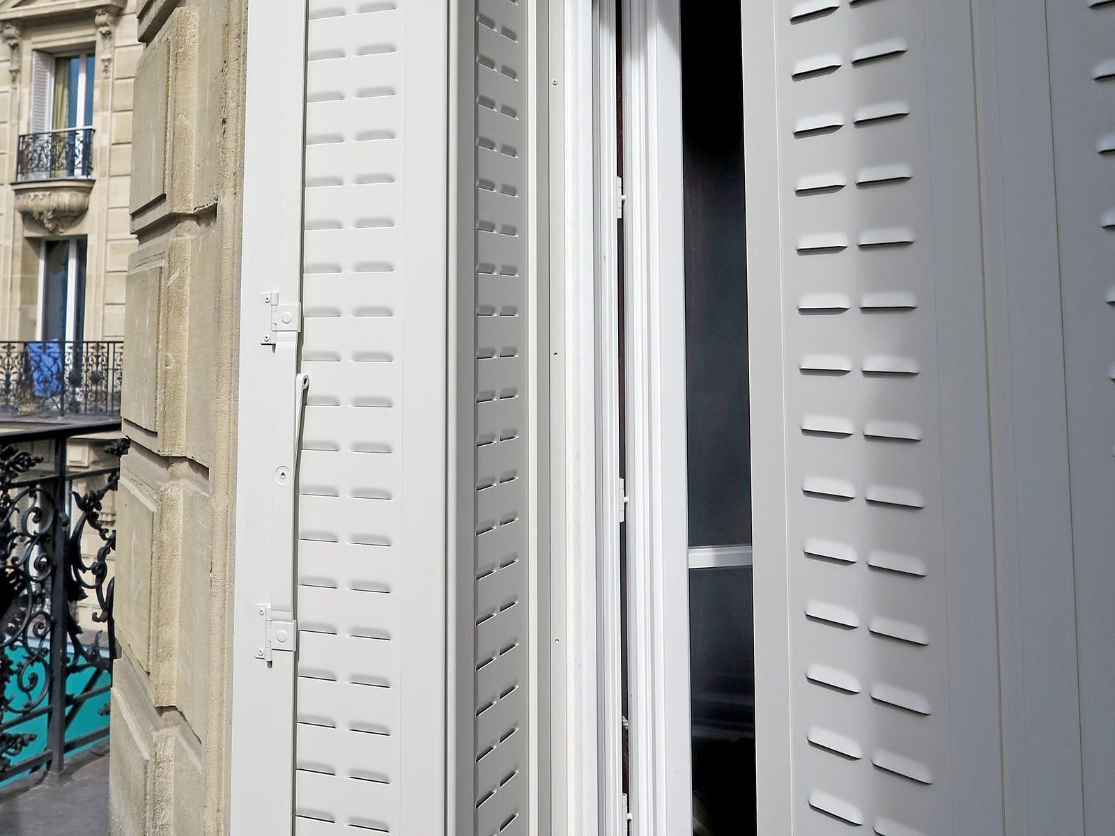 Couleur Volet En Provence jalousies plates alu - isoferm fabricant et installateur de